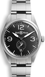 Bell & Ross BR 123 Black/Steel Ø41 mm BRV123-BL-ST-SST
