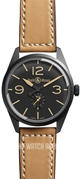 Bell & Ross BR 123 Black/Leather Ø41 mm BRV123-HERITAGE