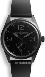 Bell & Ross BR 123 Black/Rubber Ø41 mm BRV123-PHANTOM