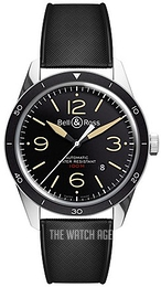Bell & Ross BR 123 Black/Rubber Ø41 mm BRV123-ST-HER-SRB