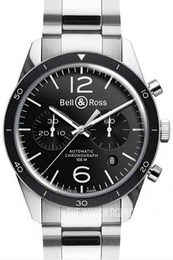 Bell & Ross BR 126 Black/Steel Ø41 mm BRV126-BL-BE-SST