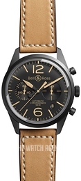 Bell & Ross BR 126 Black/Leather Ø41 mm BRV126-HERITAGE