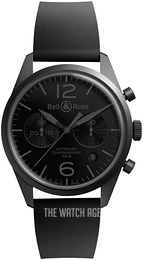 Bell & Ross BR 126 Black/Rubber Ø41 mm BRV126-PHANTOM