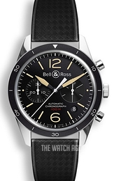 Bell & Ross BR 126 Black/Rubber Ø41 mm BRV126-ST-HER-SRB