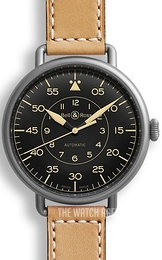 Bell & Ross WW1 Black/Leather Ø45 mm BRWW192-HER