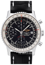 Breitling Navitimer Heritage Black/Leather Ø42 mm A1332412-BF27-743P-A20BA.1