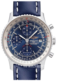Breitling Navitimer Heritage Blue/Leather Ø42 mm A1332412-C942-105X-A20BA.1