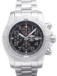Breitling Super Avenger II Chronograph Black/Steel Ø48 mm A1337111.BC28.168A