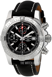 Breitling Avenger II Black/Leather Ø43 mm A1338111-BC32-435X-A20BA.1