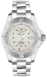 Breitling Colt Automatic Silver colored/Steel Ø41 mm A1731311-G820-182A