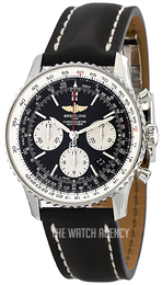 Breitling Navitimer 01 Black/Leather Ø43 mm AB012012-BB01-436X-A20D.1