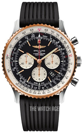 Breitling Navitimer 01 46mm Black/Rubber Ø46 mm UB012721-BE18-252S-A20D.2