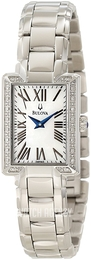 Bulova Fairlawn White/Steel 96R160