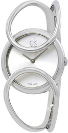 Calvin Klein Inclined Silver colored/Steel Ø30 mm K4C2S116