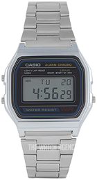 Casio Casio Collection Grey/Steel A158WA-1DF