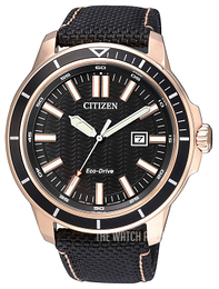 Citizen Dress Black/Leather Ø45 mm AW1523-01E