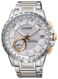 Citizen Elegance White/Yellow gold toned steel Ø44 mm CC3004-53A