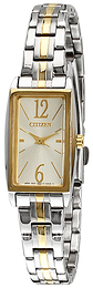 Citizen Elegance Silver colored/Yellow gold toned steel EX0304-56A