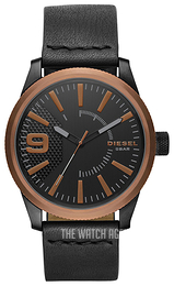 Diesel Black/Leather Ø46 mm DZ1841