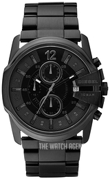 Diesel Master Chief Black/Steel Ø44 mm DZ4180