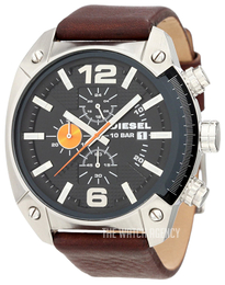 Diesel Chronograph Black/Leather Ø49 mm DZ4204