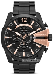 Diesel Mega Chief Black/Steel Ø53 mm DZ4309