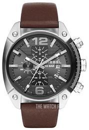 Diesel Chronograph Grey/Leather Ø49 mm DZ4381