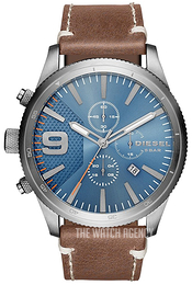 Diesel Chronograph Blue/Leather Ø50 mm DZ4443