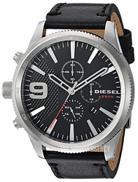 Diesel Chronograph Black/Leather Ø51 mm DZ4444