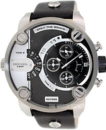 Diesel Chronograph Black/Leather Ø52 mm DZ7256