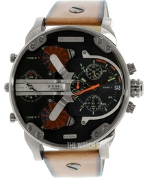 Diesel Chronograph Black/Leather Ø57 mm DZ7332