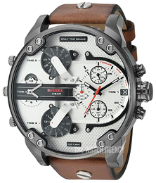 Diesel Chronograph White/Leather Ø57 mm DZ7394