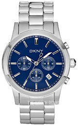 DKNY Chronograph Blue/Steel Ø42 mm NY1466