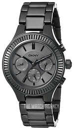 DKNY Black/Steel Ø38 mm NY2397