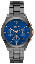 DKNY Chronograph Blue/Steel Ø37 mm NY2454