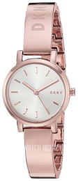 DKNY Dress White/Rose gold colored steel Ø24 mm NY2618