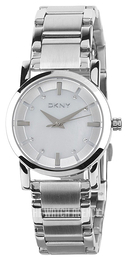 DKNY Lexington White/Steel Ø28 mm NY4519