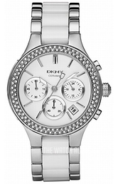 DKNY Broadway White/Ceramic Ø38 mm NY8181