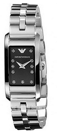 Emporio Armani Dress Black/Steel AR3166