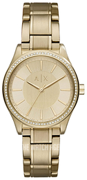 Emporio Armani Exchange Dress Yellow gold toned/Yellow gold toned steel Ø36 mm AX5441