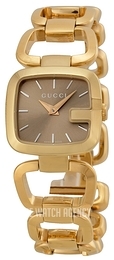 Gucci G Gucci Brown/Yellow gold toned steel YA125511