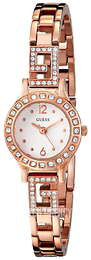 Guess Iconic White/Rose gold colored steel Ø20.5 mm W0411L3