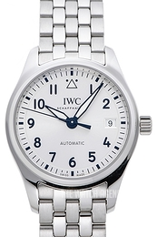 IWC Pilots Classic Silver colored/Steel Ø36 mm IW324006