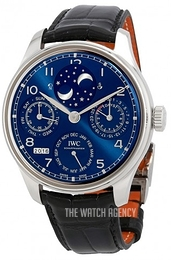 IWC Portuguese Blue/Leather Ø44.2 mm IW503401