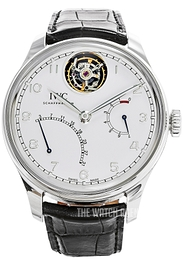IWC Portuguese White/Leather Ø44.2 mm IW504601