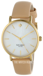 Kate Spade White/Leather Ø34 mm 1YRU0073