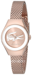 Lacoste Valencia Rose gold colored/Rose gold colored steel Ø24 mm 2000875