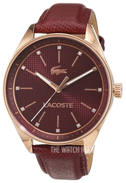Lacoste Philadelphia Red/Leather Ø38 mm 2000934