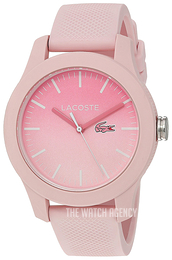Lacoste 12.12 Pink/Rubber Ø37 mm 2000988