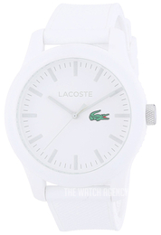 Lacoste 12.12 White/Rubber Ø42 mm 2010762